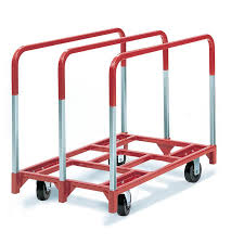 Capacity Shop 2 400 Lb Capacity Red Steel Dolly At Lowes Com