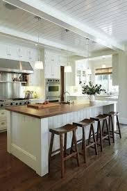 Kitchen Island Bar Height I Like The Idea Of Extra Wide Bar Height Kitchen Island Oak Top