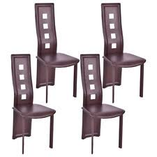 4 Dining Chairs High Back Dining Chair Ebay
