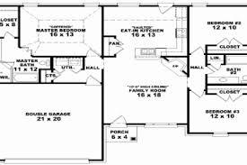 3 bedroom ranch house plans 3 bedroom ranch floor plans elegant 3 bedroom 2 bathroom ranch