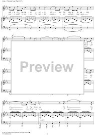 christmas song cantique de noel sheet music for piano and more