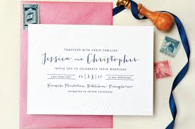 pink wedding invitations navy and hot pink wedding invitations