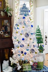 blue white tree celebrating everyday with