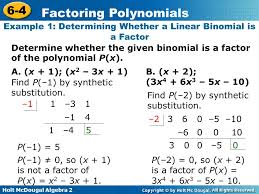 factoring polynomials worksheet with answers algebra 2 free