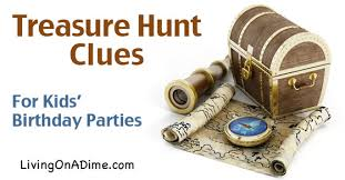 treasure hunt birthday party birthday party ideas