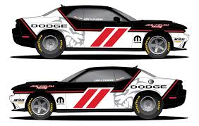 Dodge Challenger Drag Pack - erica enders to race mopar dodge challenger drag pak in factory