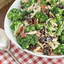 potluck salad broccoli salad with bacon and dried cherries a terrific potluck