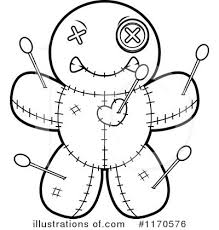 voodoo doll clipart 1170576 illustration by cory thoman