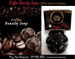 Sabun Qm mizzhan resources coffee soap cbs by qm