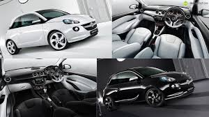 vauxhall white vauxhall adam black and white editions