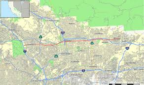 Los Angeles Street Map by Colorado Boulevard Wikipedia