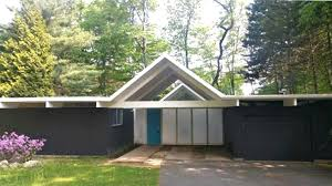 one of only three east coast joseph eichler homes is selling for