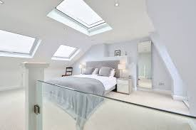 modern bedroom photos l shaped loft conversion wimbledon