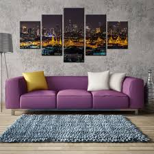 bangkok home decor shopping thailand bangkok night view scene picture landscape wall painting