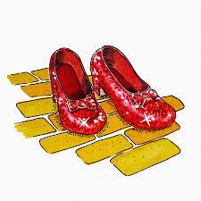 Wizard Of Oz Home Decor by Ruby Slippers The Wizard Of Oz Painting By Irina Sztukowski