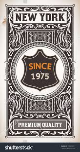 vintage design vector vintage design stock vector 136336781