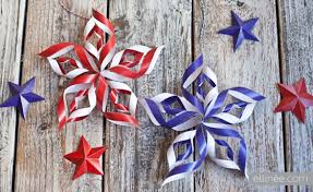 fourth of july decorations diy 4th of july paper the elli