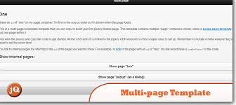 top 10 jquery mobile bootstraps and templates u2014 sitepoint