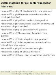 Resume Objective Call Center Sample Resume Supervisor Position Ideas Collection Sample Resume
