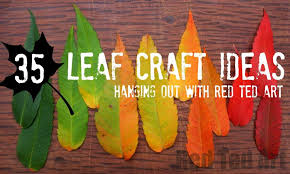 leaf crafts for all year ted s