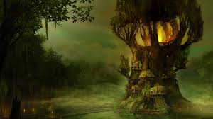 elves tree wallpaper simply wallpaper just choose and