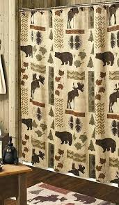Curtains For A Cabin Cabin Themed Shower Curtains Country Curtains Country Moose And