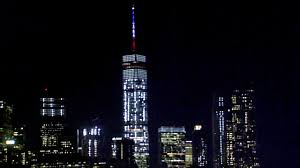 empire state building lights tonight new york city pays tribute to paris attack victims with world trade