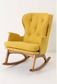 rocking chair design made of solid beech wood the veelar gliding