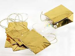 metallic gift bags gold metallic favor bags bags basic craft supplies craft supplies