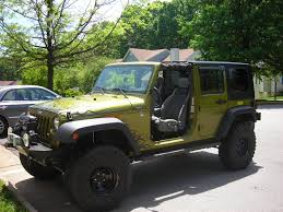 2007 green jeep wrangler 2007 jeep wrangler unlimited lifted and locked 23750