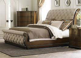 Sleigh Bed With Storage Cotswold Queen Upholstered Sleigh Bed From Liberty 545 Br Qsl
