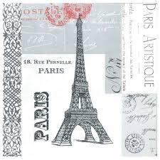 amazon com paperproducts design 35017 paris eiffel tower 100