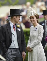 kate middleton and prince william make first royal ascot
