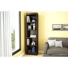Black Wall Bookshelf Bookcase Black Narrow Bookcase For Living Room Ideas Black