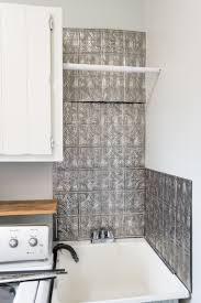 Free Laundry Room Backsplash - Utility sink backsplash