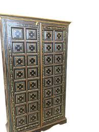 Black Armoire Wardrobe Furniture 251 Best Indian Armoire Cabinet Images On Pinterest Design Homes