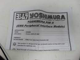 yoshimura rzr xp 900 ems pim 2 peripheral interface module utv