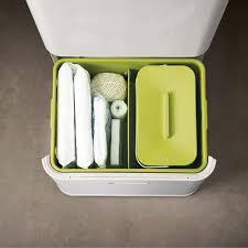 poubelle cuisine tri poubelle de tri totem 60 litres 4 bacs amovibles joseph