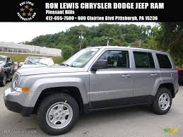 silver jeep patriot 2017 billet silver metallic jeep patriot sport 4x4 115209079