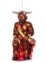 naughty krampus christmas ornament by archie mcphee plasticland