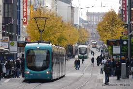 Trams in Mannheim/Ludwigshafen