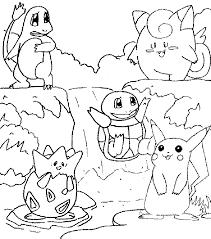 coloriage de pokemon
