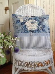 French Country Cushions Cottage Charm Blue White Blue And White Pinterest Cabbage