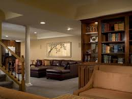 home decor elegant basement design with home design styles