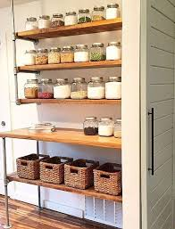 Pantry Shelving Ideas by Best 20 Open Pantry Ideas On Pinterest Open Shelving Vintage