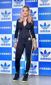 adidas one jumpsuit pretty in pink ora continues to live up to style