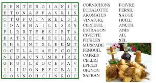 jeu de mot cuisine jeu mots mêlés assaisonnements et condiments le de ludovica