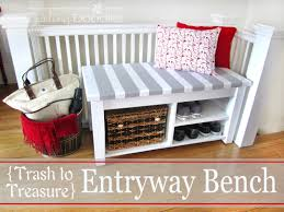 decorating chic entryway furniture with astounding foyer bench