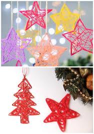 yarn diy ornaments for startsateight