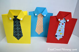 fathers day cards east coast shirt and tie s day card